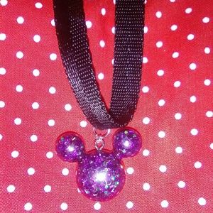 Mickey Mouse Resin choker